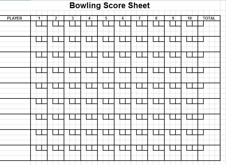 11 Free Sample Cricket Score Sheet Templates Printable Samples – Sample Football Score Sheet