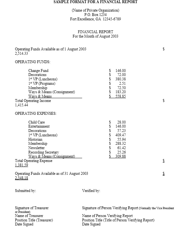 13 Free Sample Annual Financial Report Templates Printable Samples