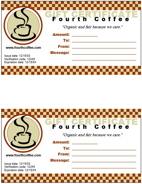 Lunch Voucher Templates Printable Samples – Lunch Voucher Template