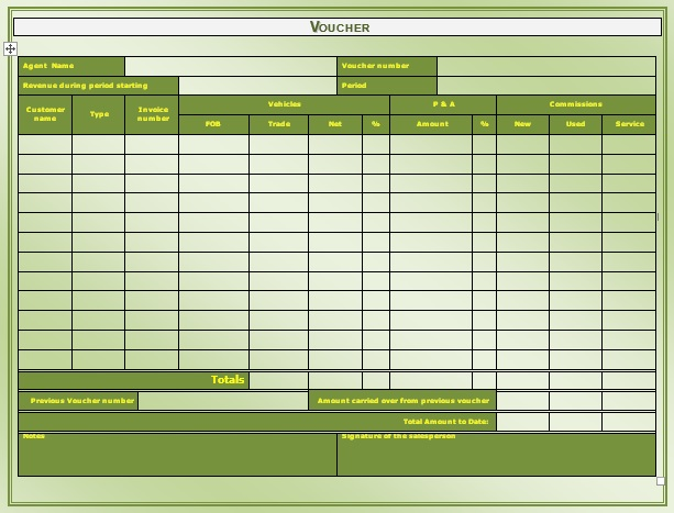 7 Free Sample Meal Voucher Templates Printable Samples – Meal Voucher Template