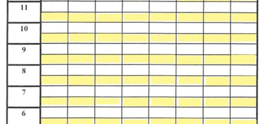 6 Free Sample Hand and Foot Score Sheet Samples Printable Samples – Sample Tennis Score Sheet Template