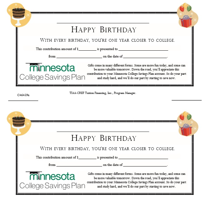Doc585770 Sample Birthday Gift Certificate Template 15 – Sample Blank Gift Certificate Template