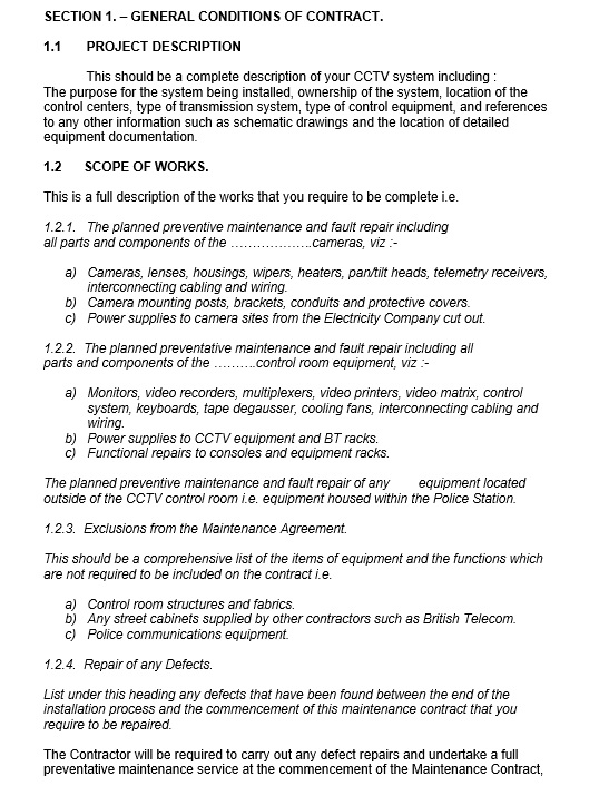 Computer Repair Contract Template from www.printablesample.com