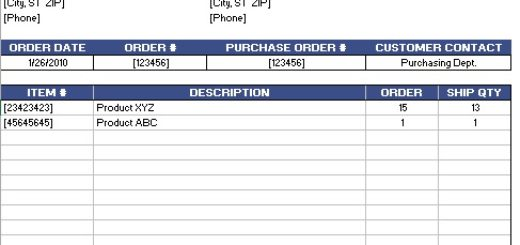 Doc422464 Sample Packing List for Shipping Shipping Packing – Shipping Packing List Template