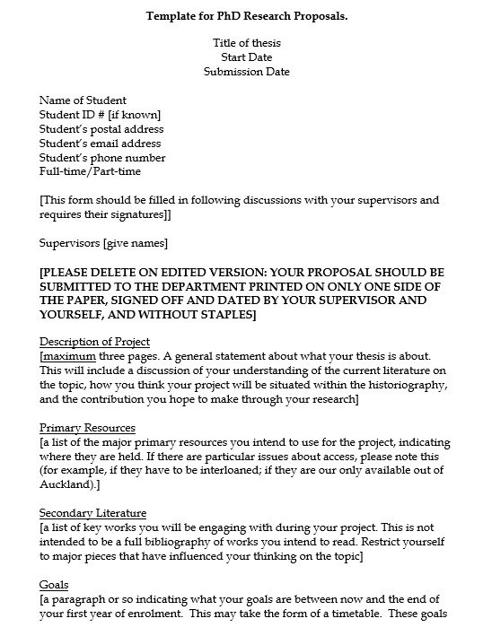 How to Write a Research Proposal | Guide and Template