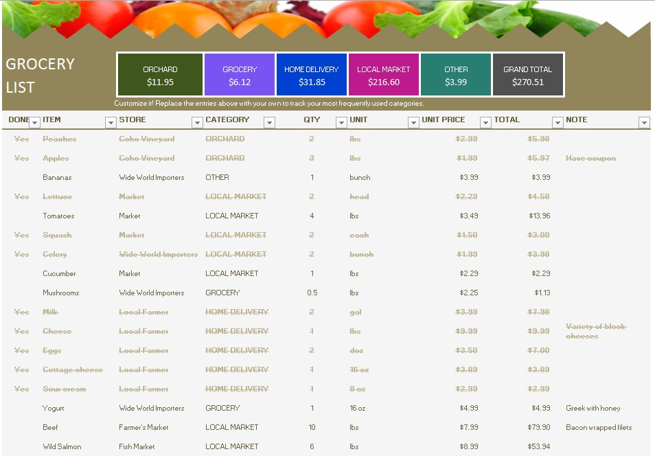 Grocery Price List Template from www.printablesample.com