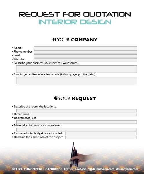 9 Free Sample Graphic Design Quotation Templates , Printable