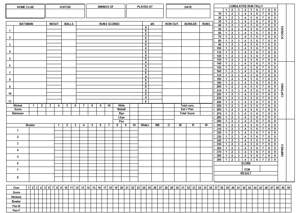 6 Free Sample Hand and Foot Score Sheet Samples Printable Samples – Hand and Foot Score Sheet Template