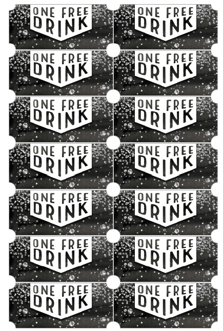 8 Free Sample Drinks Voucher Templates Printable Samples
