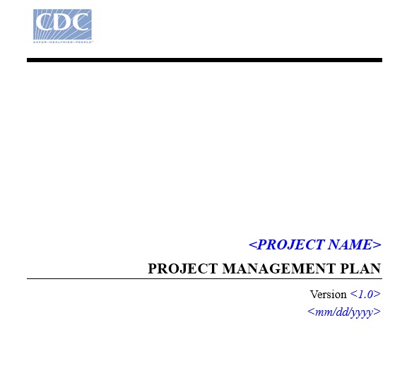 Cdc_up_project_management_plan_template 2