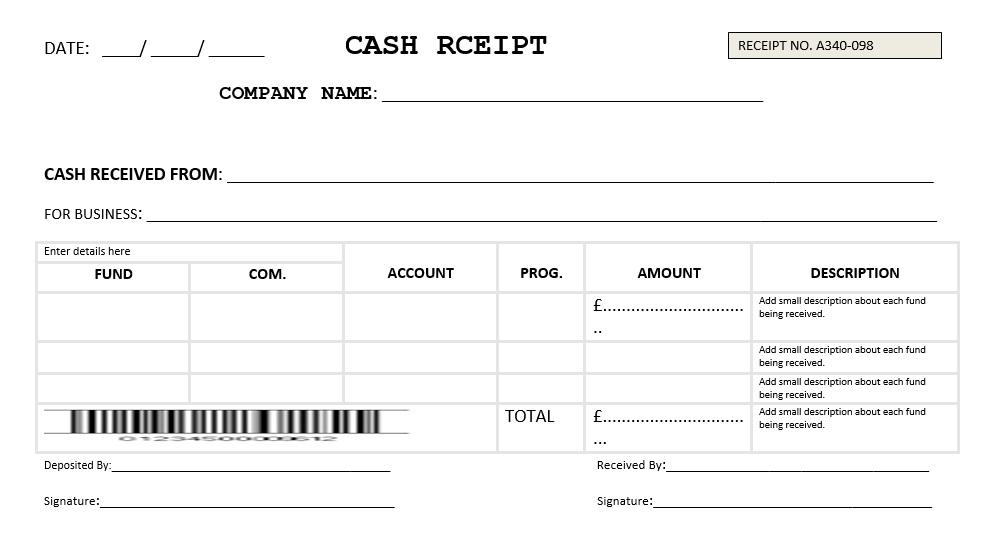 Money Receipt Format from www.printablesample.com