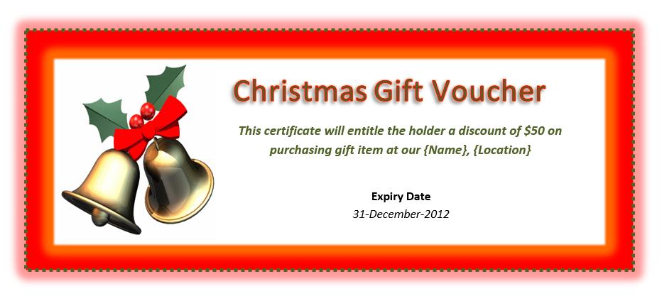 Gift Voucher Template 14