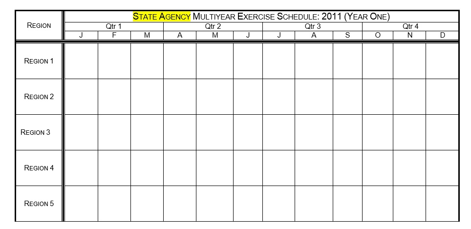 Exercise Schedule Template from www.printablesample.com