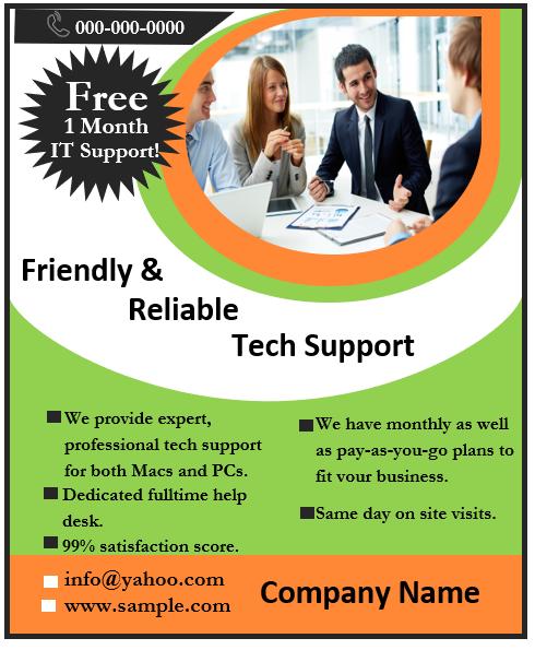 Business Flyer Template 01