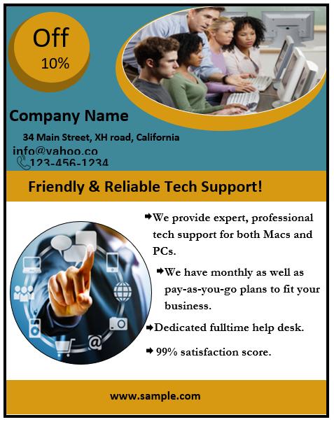 Business Flyer Template 03