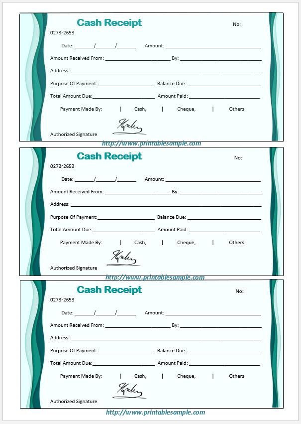 cash receipt template 19