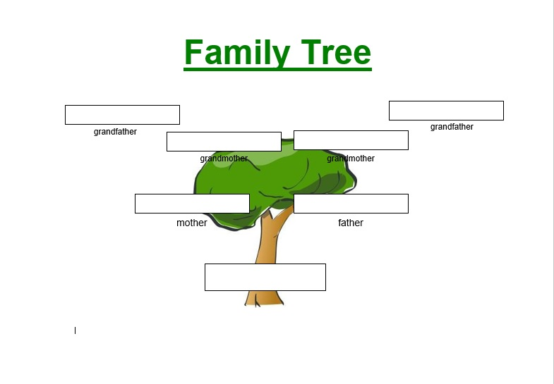 Template Family Tree from www.printablesample.com