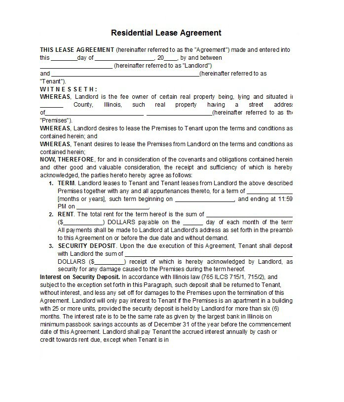 Rental Application Template 04
