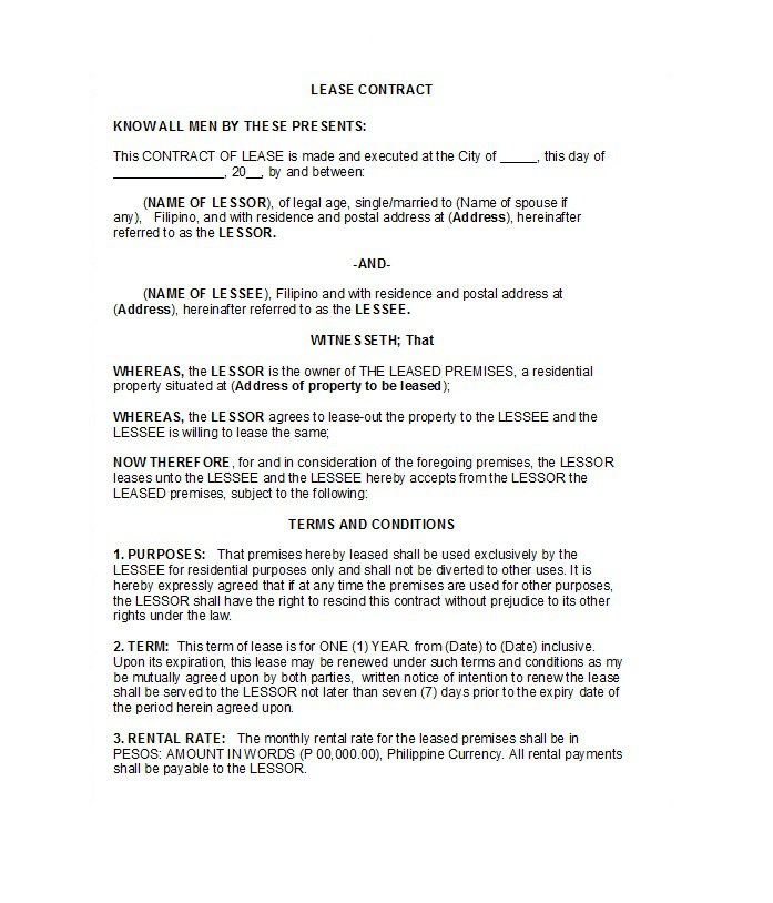 Rental Application Template 06
