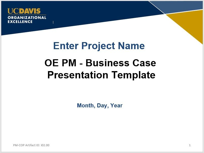 Business Case Template 04
