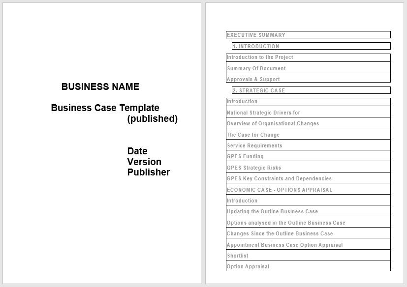 Business Case Template 21