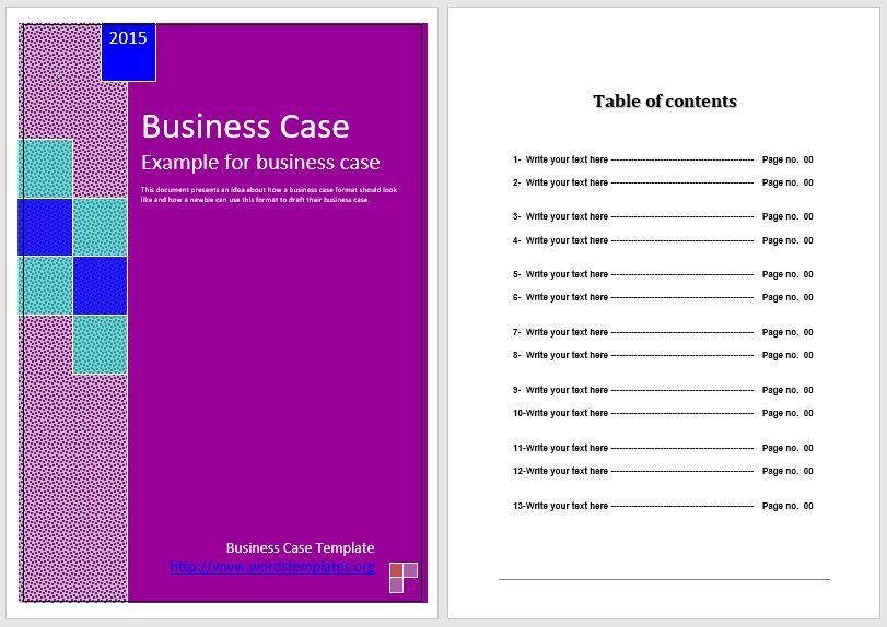 Business Case Template 28