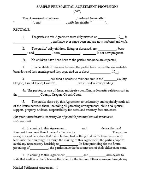 cohabitation agreement template 31