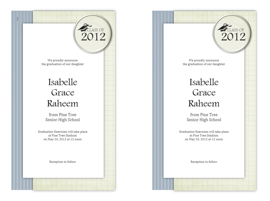 graduation invitation templates 04