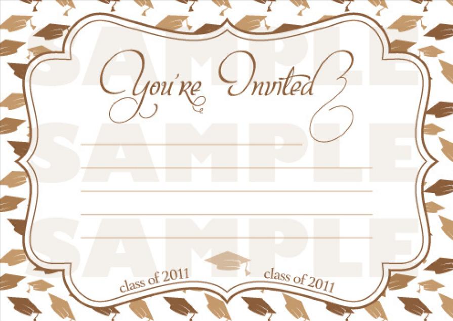 graduation invitation templates 06