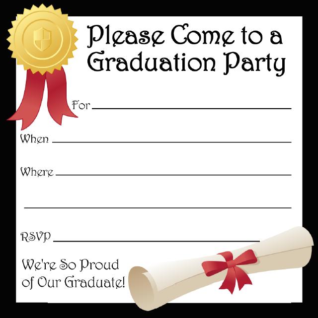 graduation invitation templates 10