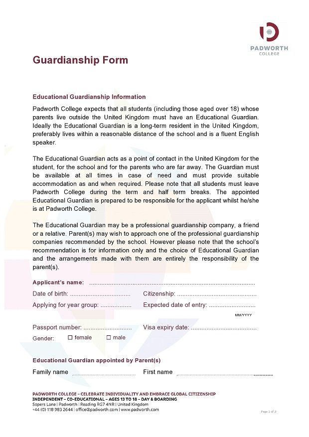 guardianship form 012