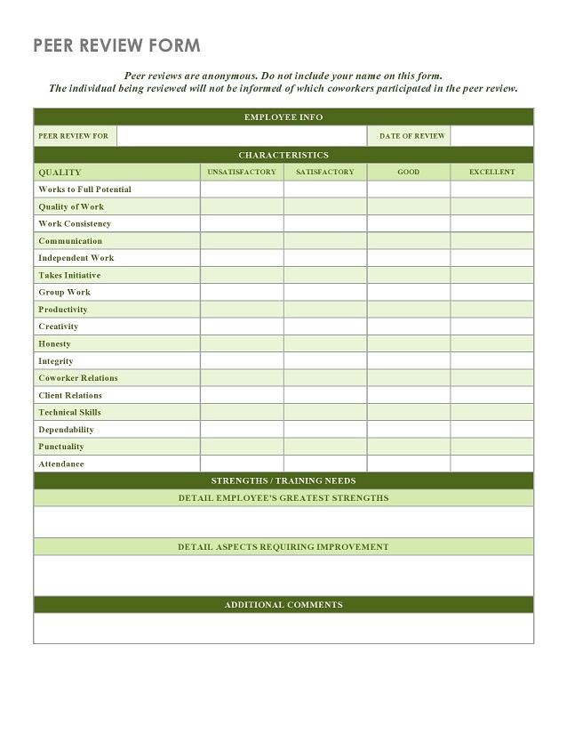 peer evaluation form 012