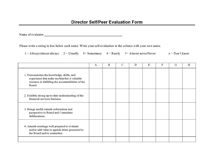 peer evaluation form 020