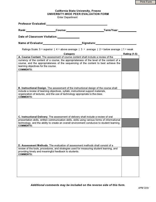 peer evaluation form 022