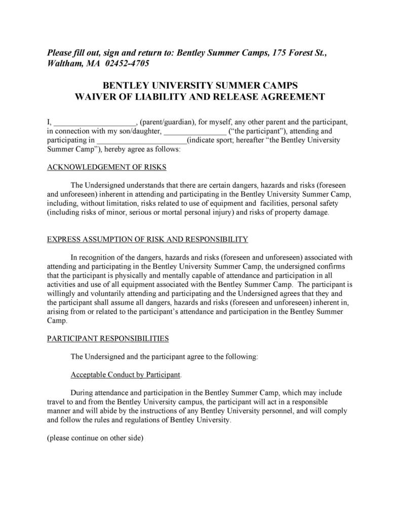 release of liability form 021