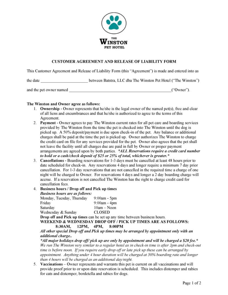 release of liability form 028